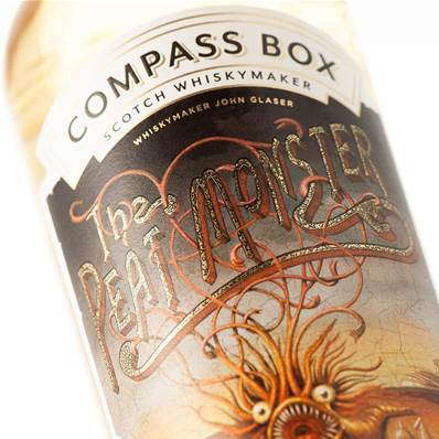 Whisky PEAT MONSTER blended Ecosse 70cl 46° de chez Compass Box