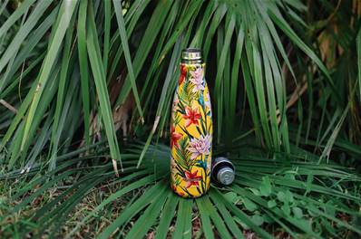 "Bouteille isolante inox ""tropical"" 500 ml"