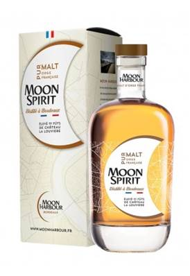 Whisky MOON SPIRIT Pur malt Bordeaux 70cl 47.8°