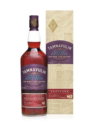 Whisky TAMNAVULIN red Wine SPEYSIDE Ecosse 70CL 40° ECOSSE