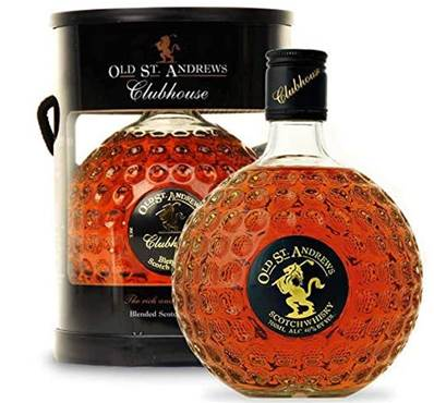 Whisky écossais clubhouse old st andrew blend 70cl 40°