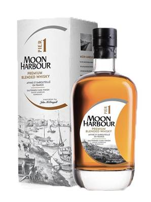 Whisky MOON SPIRIT Pier 1 Ecosse / Bordeaux 70cl 45.8°