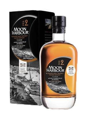 Whisky MOON SPIRIT Tourbé Pier 2 Ecosse / Bordeaux 70cl 47.1°